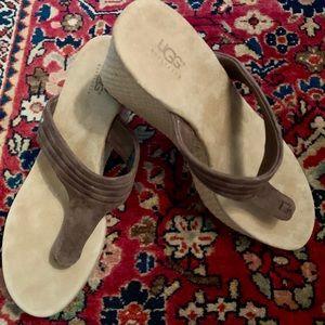 UGG sandals. SOLD